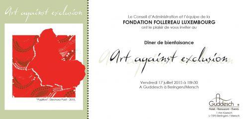 Fondation Follereau Luxembourg vous invite @ restaurant A Guddesch   Beringen   Luxemburg   Luxembourg