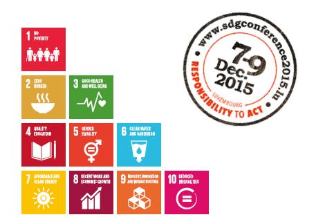 SDG conference - Responsability to act. @ Rotondes et Maison du savoir-Belval