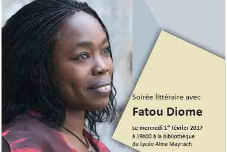 Soirée littéraire avec Fatou Diome @ Bibliothèque du lycée Aline Mayrisch | Luxembourg | District de Luxembourg | Luxembourg