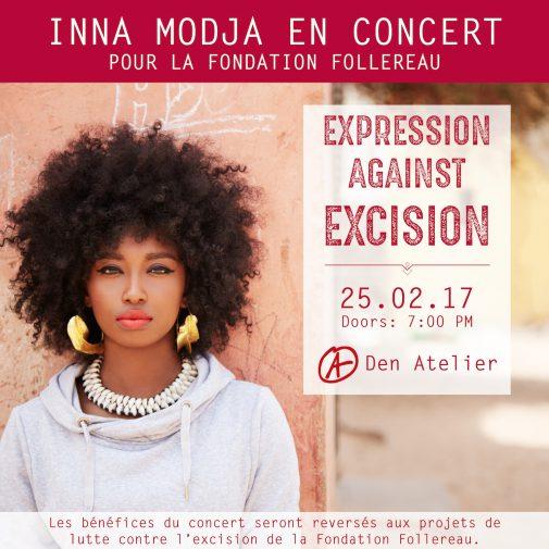 EXPRESSION AGAINST EXCISION @ Den Atelier   Luxembourg   District de Luxembourg   Luxembourg