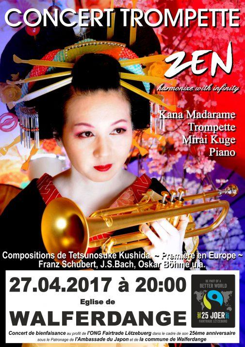 concert trompette zen @ Eglise de Walferdange | Walferdange | District de Luxembourg | Luxembourg