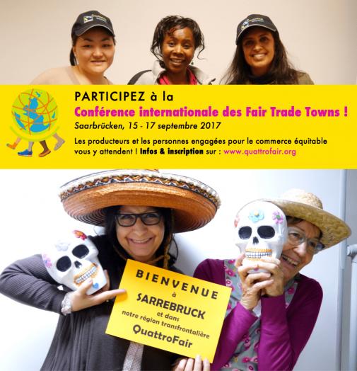 Participez à la 11e conférence internationale des Fair Trade Towns @ Sarrebruck | Sarre | Allemagne