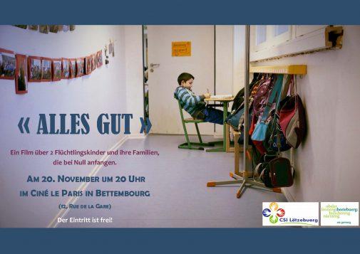 ALLES GUT @ IM CINÉ LE PARIS IN BETTEMBOURG   Bettembourg   District de Luxembourg   Luxembourg