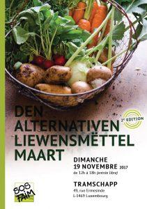 Den alternativen Liewensmëttel Maart – 2e édition @ Tramsschapp | Luxembourg | District de Luxembourg | Luxembourg