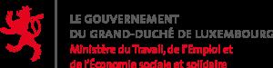 Logo du Ministère du Travail, de l'Emploi et de l'Economie sociale et solidaire de Luxembourg