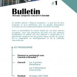Bulletin #1 - Réseaux européens Concord et Eurodad